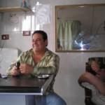 Haisam in seinem Geschäft