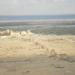 Das Ruinenfeld und die Säulenstraße von Palmyra