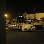 Mein kleines Flugzeug ganz in Schwarz